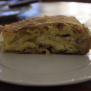 Eggpie, with homemade pastry by a pro