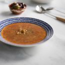 Lentil soup, winter warmers