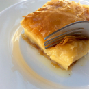 Galaktoboureko, Greek custard pie