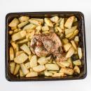 Greek roast lamb