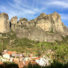 Meteora cliffs and tips