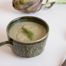 artichoke and leek soup
