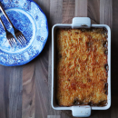 Cottage pie, cooking with friends