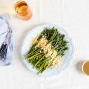 Asparagus mimosa,a  taste of spring