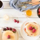 Pancakes, with Greek yogurt or without