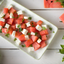 Watermelon and feta