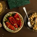 Chickpea stew with wild fennel