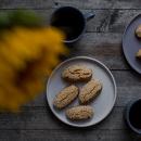 Moustokouloura, grape molasses cookies