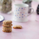 Tahini and honey biscuits