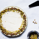 Lavender semolina pudding, Layali Lobnan - nights of Lebanon
