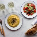 Fava, yellow split peas puree from Santorini