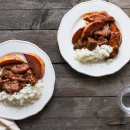 Winter stews: Beef with quince