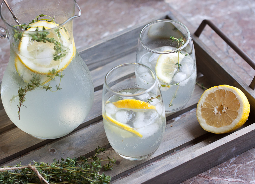 Homemade Lemonade - Eat Yourself Greek